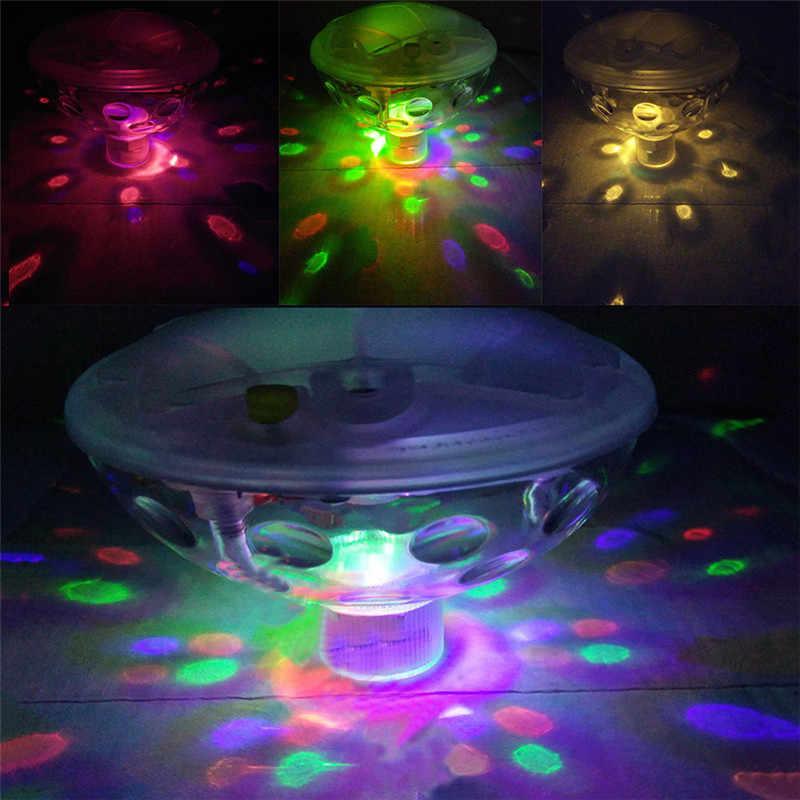 Аккумуляторная подводная подсветка для фонтана диско спа освещение для ванной плавательный бассейн лампа светодиодный свет детский бассейн свет