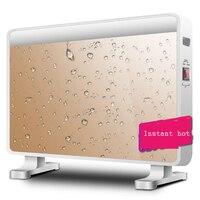 Высокая Мощность Instant Hot Электрический подогреватель дома горячей ветер вентилятор жизни ванная комната двойной Применение конвекции быст
