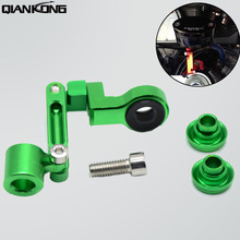Universal motorcycle Brake clutch pump fluid RESERVOIR tank bracket For Kawasaki NINJA 250R 2008 - 2012 2010 300R 2013
