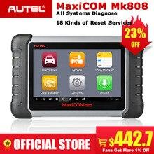 Autel MaxiCOM MK808 OBDII Автомобильный сканер IMMO EPB SAS BMS TPMS DPF сервис диагностический инструмент MD802 все системы + MaxiCheck Pro