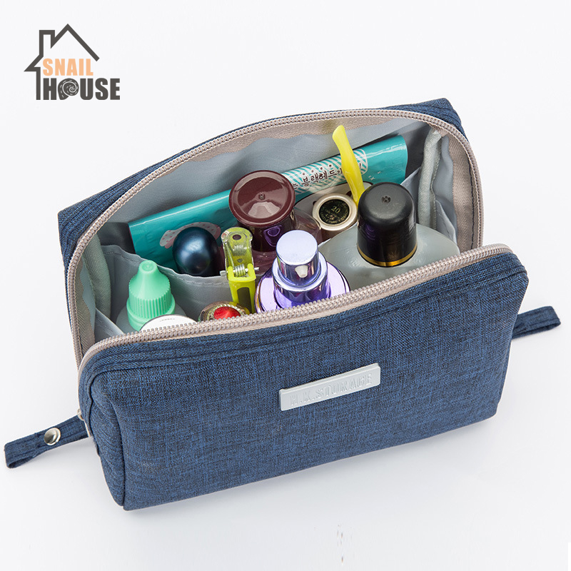 Snailhouse Waterproof Oxford Cloth Square Cosmetic Bag Travel Storage Artifact Storage Bag Organizador Closet Organizer Durable