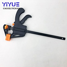 4 Inch Quick Ratchet Release Speed Squeeze Wood Working Work Bar Clamp Clip Kit Spreader Gadget Tool DIY Hand Work Bar uneefull 6 34 inch quick ratchet release speed squeeze wood working work bar clamp f clip spreader gadget tool diy hand tools