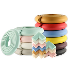 2 м защитный уголок для Детей Протектор Детские протекторы для мебели угловая защита младенческой безопасности накладка на углы ленты