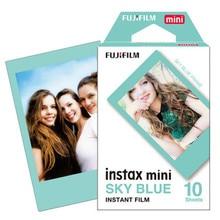 2017 новое прибытие пленка fujifilm instax mini 8 голубой рама 10 шт. для 8 50 s 7 s 90 25 polaroid поделиться сп-1 мгновенных фотоаппарат