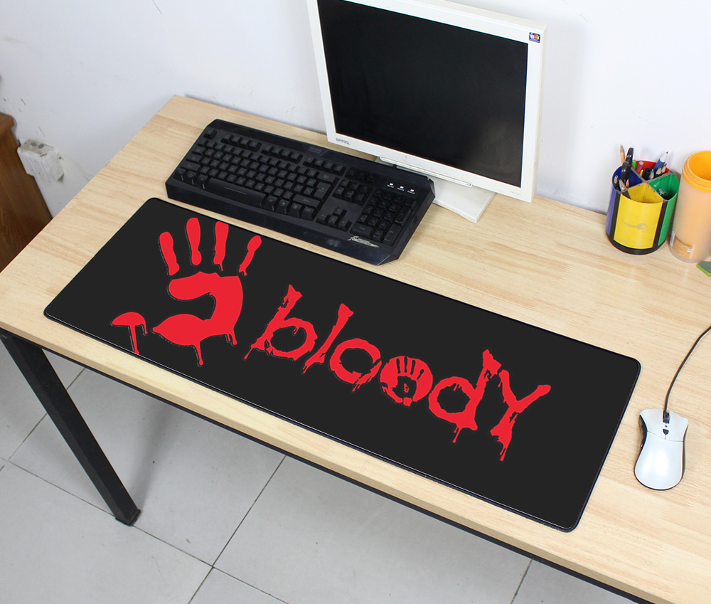 bloody mousepad gamer 900x300x3mm gaming mouse pad large Popular notebook pc accessories laptop padmouse ergonomic mats