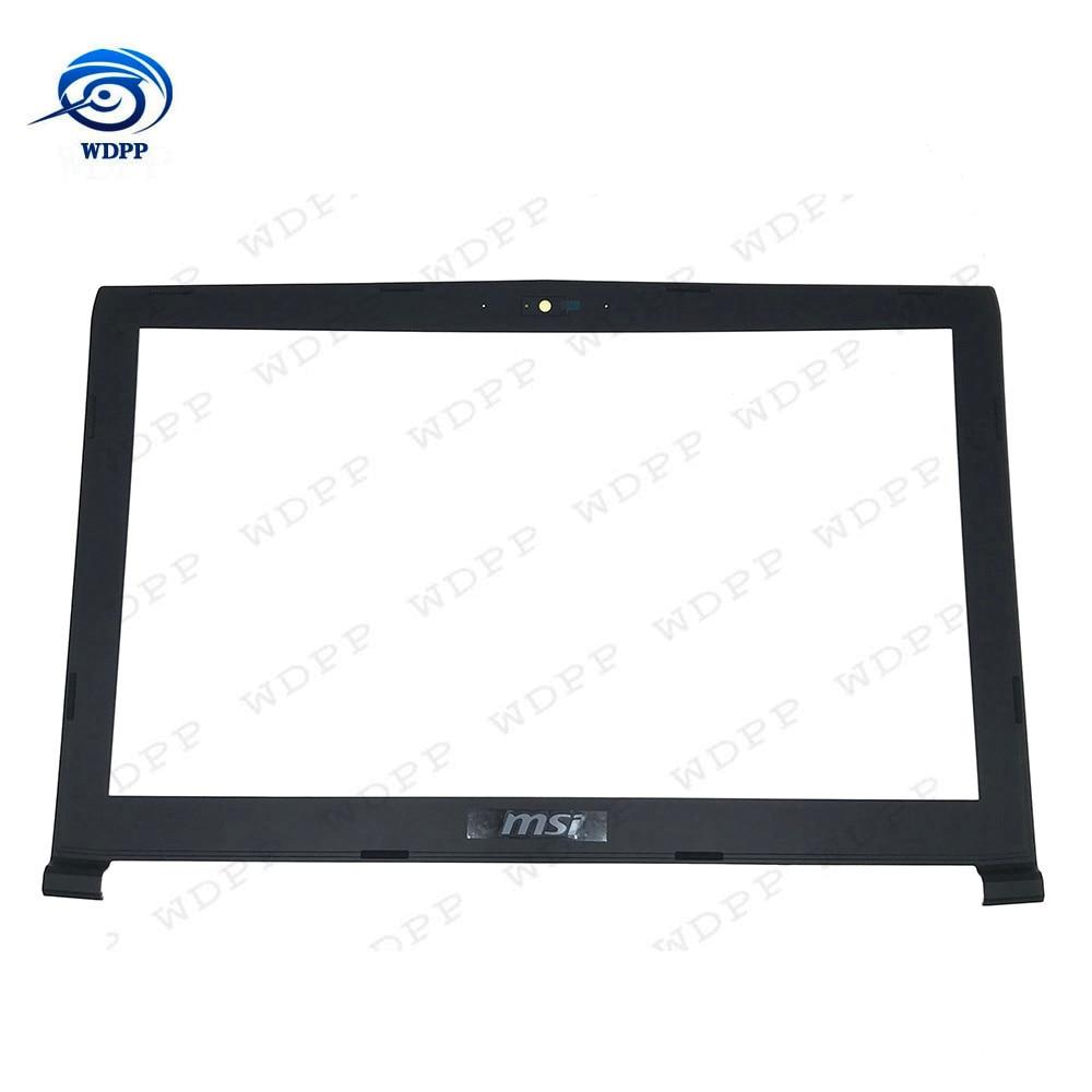 Nouveau couvercle de lunette pour ordinateur portable LCD pour coque MSI GP62MVR GP62 6QG GL62 6QF MS-16J5 B