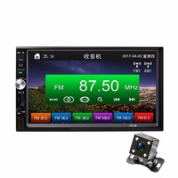New Car MP5 Player 7023B 7 inch Digital Touch Screen Car Radio 2 Din Central Multimedia Bluetooth Auto Audio Stereo Rear Camera