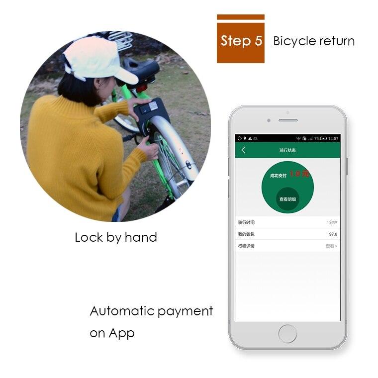 GPRS Bluetooth GPS велосипеды/автомобили/грузовики Аренда управления совместное использование программного обеспечения системы