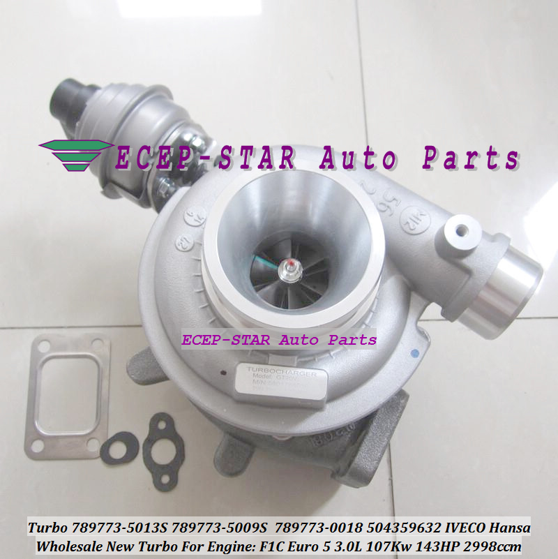 Turbocharger 789773-5013S 789773-5009S 789773-5006S 789773-0026 789773-0018 789773 504359632 5801768036 For IVECO Hansa F1C 3.0L