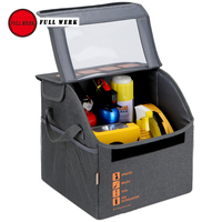 1 pc Portable Oxford Car Trunk Storage Bag Foldable Multi function Car Bag Organizer Container Case Box Car Styling Accessories