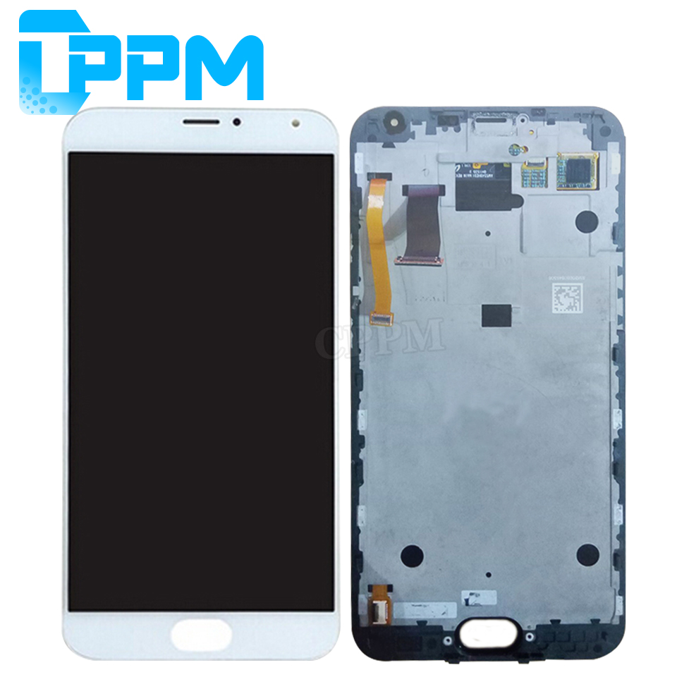 Tested For MEIZU MX5 Original New 1920x1080 Screen for MEIZU MX 5 LCD Display +Frame Touch Screen Digitizer Assembly Replacement