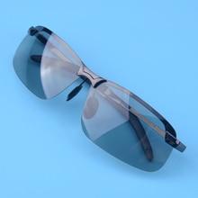 UV400 Для мужчин поляризованные фотохромные переходная линза солнцезащитные очки Открытый вождения Рыбалка Спорт Велоспорт велосипед очки с очками коробка