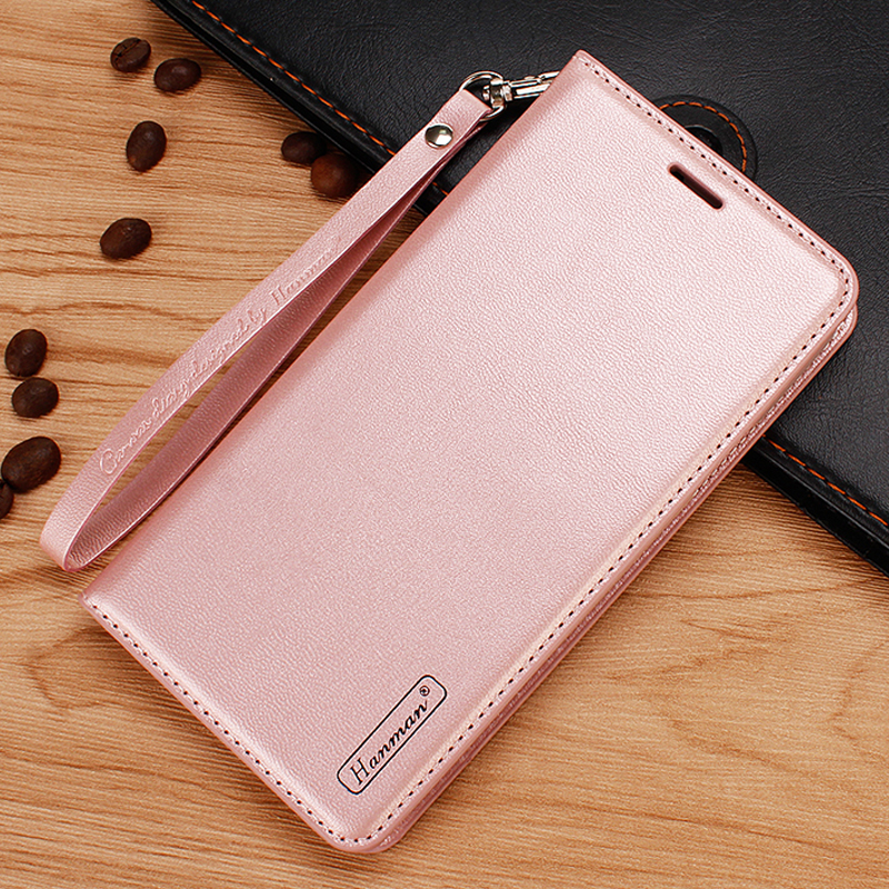 For iPhone 8 7 6 6S Plus Case Luxury Magnetic Soft Silicone PU Leather Wallet Armor Full Body Protective Back Phone Case Cover