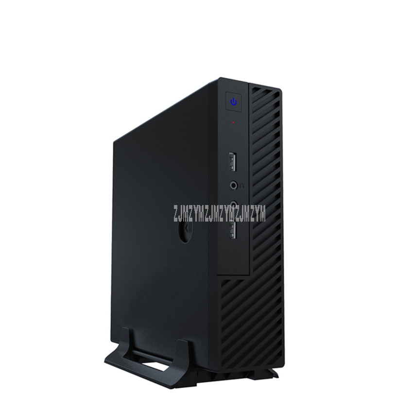 ZH2101P33 240G SSD DDR3L 8G זיכרון i3 8100 מעבד ארבע ליבת Win10 מערכת מיני מחשב שולחני מארח מחשב מארח מארז מחשב שחור|מארזי Tower למחשבים|   - AliExpress
