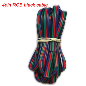 5 ~ 100 meter 2pin 3pin 4pin 5Pin 6pin 22 AWG Verlängerung Elektrische Draht Kabel Led Stecker Für 5050 3528 RGBW RGB CCT LED Stirp