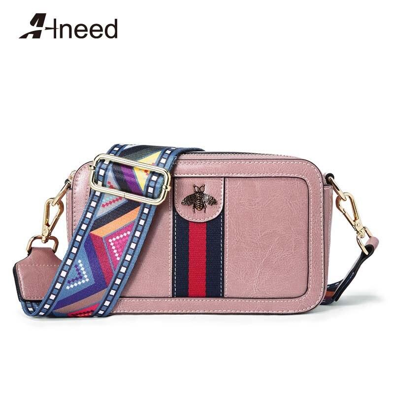 Sac ALNEED pour femmes 2018 petit sac à rabat Design de luxe sacs à main pour femmes grande capacité sac Messenger couleur bandoulière fourre-tout