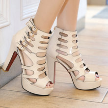 Woman Gladiator Sandals Sexy Pumps High Heels