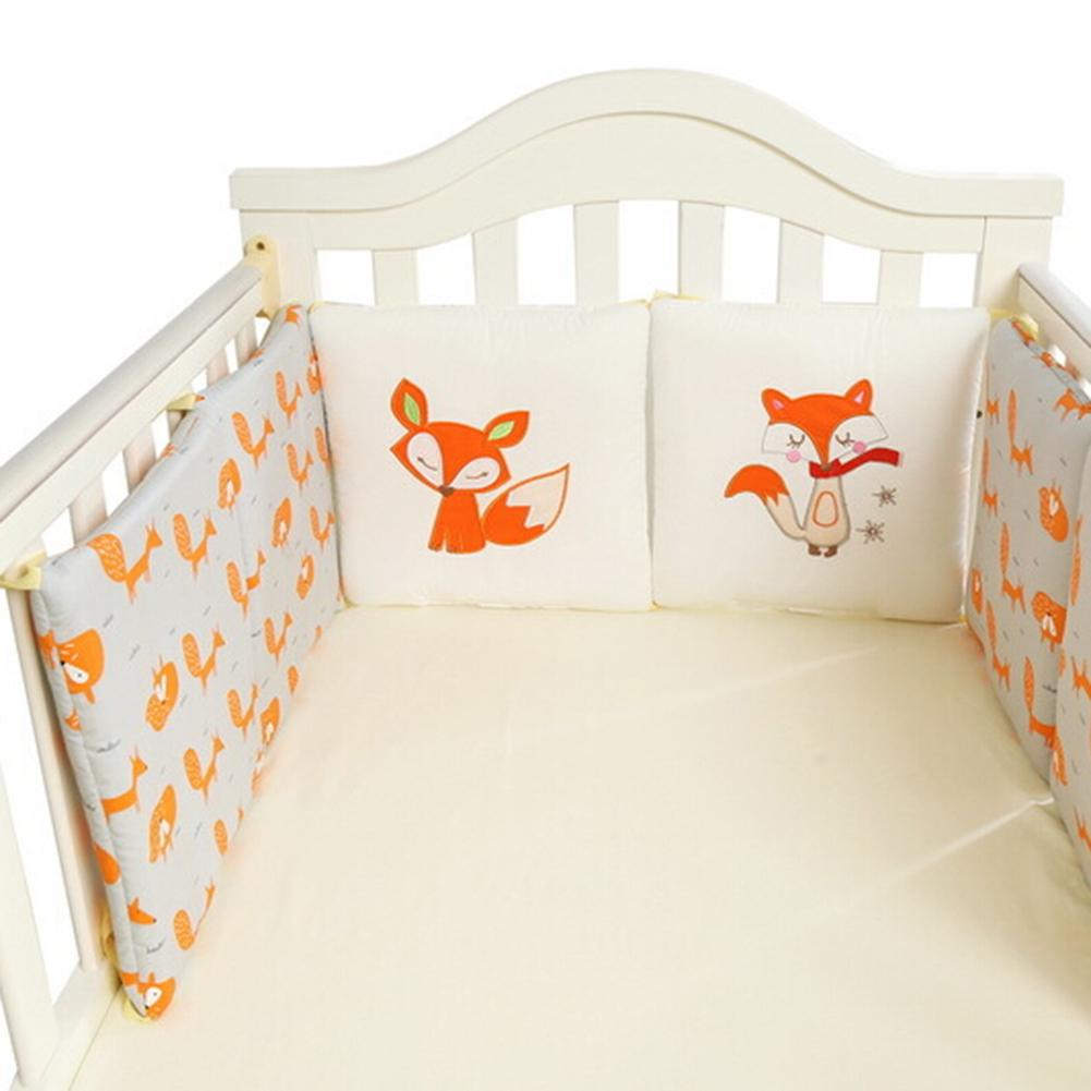 Bumpers Back To Search Resultsmother & Kids The Cheapest Price 6 Pcs Per Set 30*30cm Cotton Crib Bedding Bed Bumper Fence