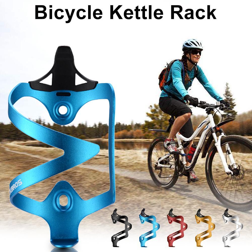 ขี่จักรยานขวดถ้วยจักรยานอลูมิเนียมอัลลอยด์จักรยานภูเขาถ้วยน้ำขี่อุปกรณ์เสริมด้านเดียว-ใน ที่ใส่ขวดสำหรับจักรยาน จาก กีฬาและนันทนาการ บน title=