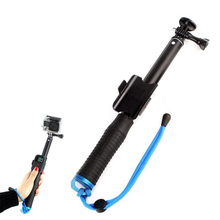 Promo offer New Extendable Telescopic Monopod Selfie Stick Remote Pole Black For GoPro Camera eals  @JH
