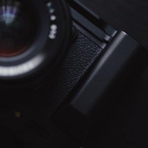 Image 3 - أسود Pro سريع إطلاق L لوحة/L نوع قوس ترايبود يصلح ل فوجي فيلم فوجي XT20 X T30 يد ماسِك للجوّال