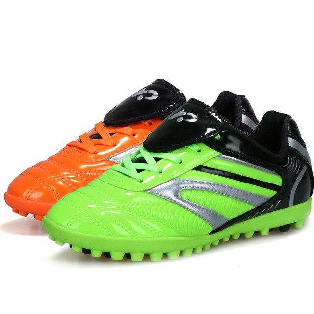 Homens sapato Menino Crianças Tênis De Futebol indoor soccer shoes Chuteiras  de futebol botas homens formação 1fa6f426ae5ff