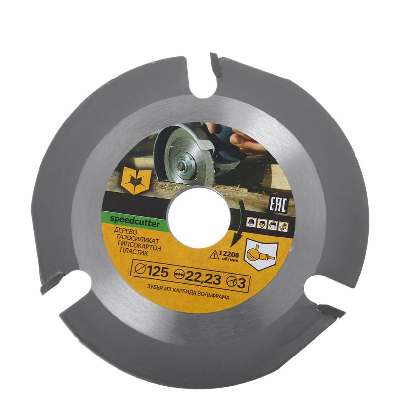 125mm 3T Circular Saw Blade Multitool Wood Carving Cutting Disc Grinder Carbide Power Tool Attachments