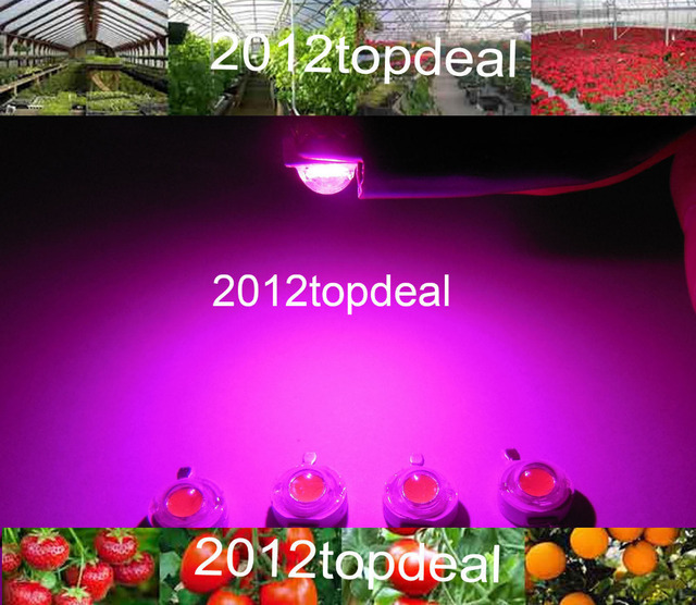 10pcs New Arrival , 3w full spectrum led chip , 400nm~840nm with bridgelux for medical plant grow ,suit for all stage