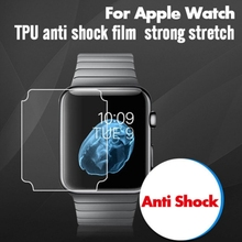 OOTDTY Full Coverage Screen Protector TPU Film For Apple Watch iWatch Series 1/2/3 38mm 42mm стоимость