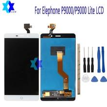 Ограниченное предложение Для Elephone P9000/P9000 Lite ЖК-дисплей Дисплей + Сенсорный экран Панель цифровой Запчасти для авто сборки Original5.5inch 1920×1080 P наличии