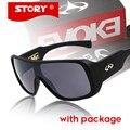 Story marca evoke amplificador marca diseñador recubrimiento sunglass gafas de sol de gran tamaño al aire libre para los hombres de las mujeres gafas de sol oculos