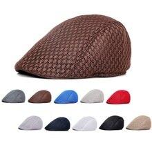 Nueva moda солнцезащитный шлем берет остроконечная летняя воздухопроницаемость mujer sombrero Gastby мужские britanico estilo Occident boina Gastby