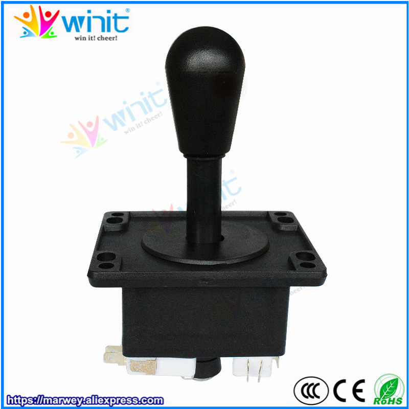 DIY arcade parts bundles kit American style arcade kit USB encoder gaming joystick push button switch for fighting game machine