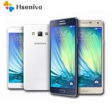 "100% D'origine Samsung Galaxy A7 A7000 4G LTE Mobile téléphone Octa-core 1080 P 5.5 ""13.0MP 2G RAM 16G ROM Double SIM Smartphone"