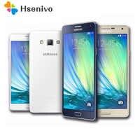 Originais Samsung Galaxy A7 A7000 4G telemóvel Octa-1080 P núcleo 5.5 ''13.0MP 2G RAM 16G ROM Dual SIM Smartphones remodelado