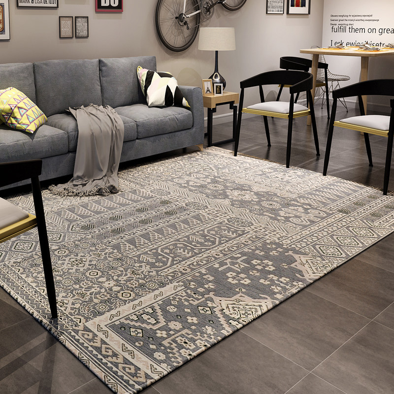 Modern Nordic Carpets For Living Room Home Bedroom Carpet Study Room Rug Sofa Coffee Table Floor