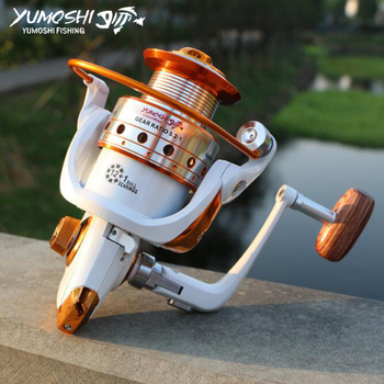 Metal Fishing Reel 13BB 500 - 9000 series spinning reel fishing reels hot sale free shipping spinning reel fishing reel ga8000 ga10000 13bb 5 2 1 spinning reel casting fishing reel lure tackle line