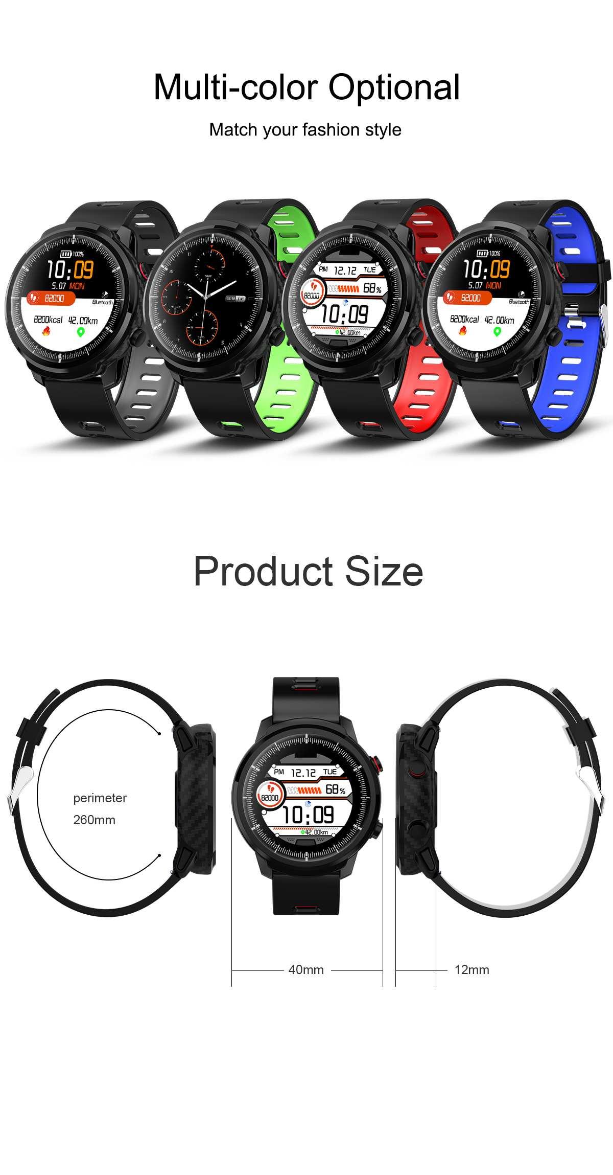 relógio inteligente masculino mulher pulseira monitor de