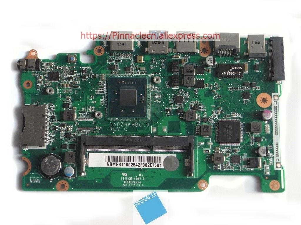 NBMRS11002 Scheda Madre per Acer Aspire ES1-111M/W N2940 CPU DA0ZHKMB6C0 ZHKNBMRS11002 Scheda Madre per Acer Aspire ES1-111M/W N2940 CPU DA0ZHKMB6C0 ZHK