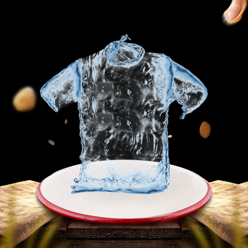 Hydrophobic Anti-fouling T-shirts Men Waterproof Anti-pollution Quick Dry Tee Shirts New Men's Short-sleeved Jogger Sport shirts(China)