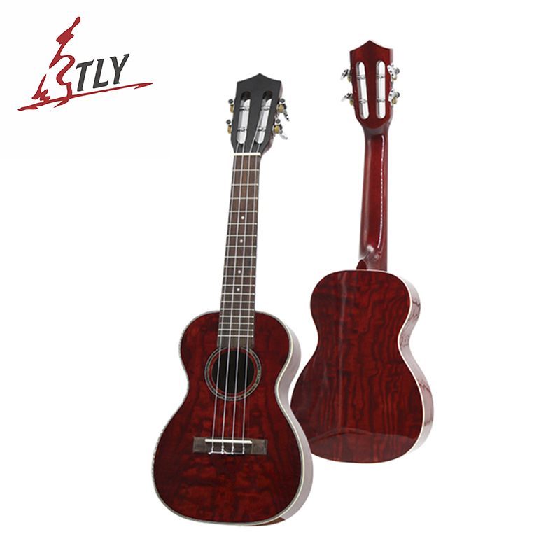 26 23 21 inch Ukelele Ukulele Rosewood Fingerboard 4 Strings Hawaii Mini Guitar Flower willow material поло print bar flower hawaii