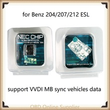 Transponder A2C-45770 A2C-52724 NEC Chip for Ben-z W204 W207 W212 for ESL ELV Workin with Xhorse VVDI MB BGA Tool or CGDI for MB
