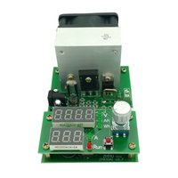 1PC Multifunction 60W 9 99A 30V Constant Current Electronic Load Aging Battery Power Capacity Tester Module