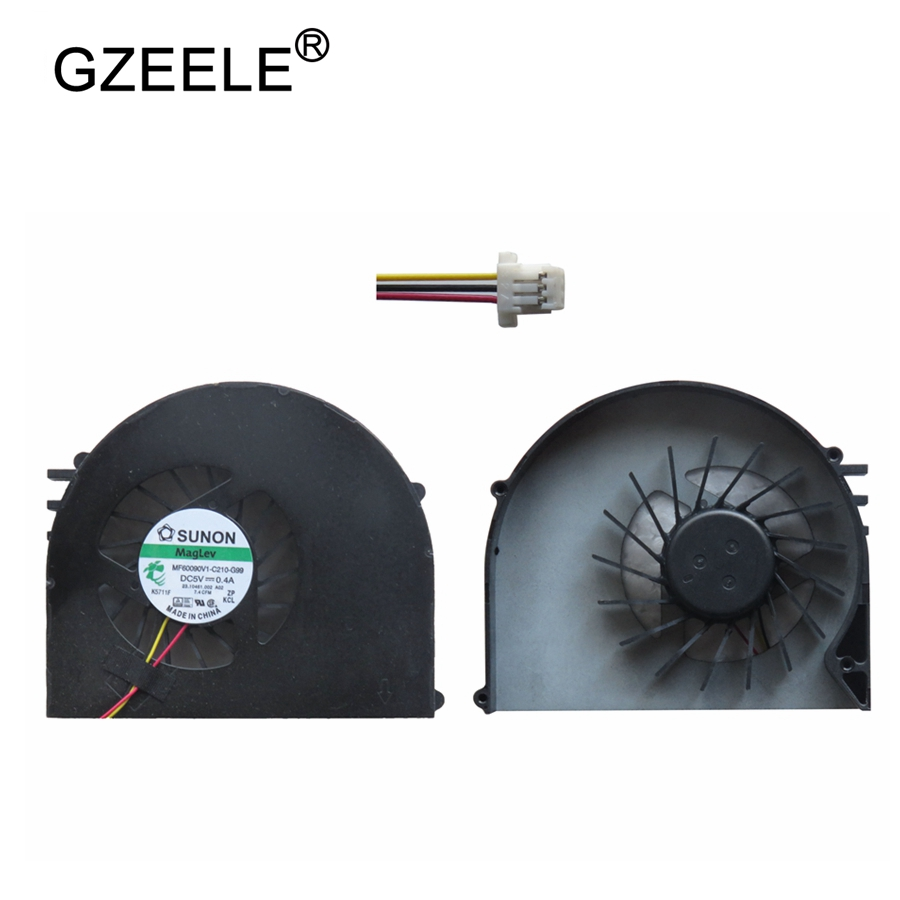 GZEELE NEW laptop cpu cooling fan for DELL Inspiron 15R N5110 Ins15RD m5110 m511r Ins15RD Series Notebook Replacement Fan Cooler