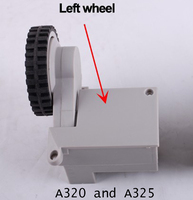 A325 And A320 Spare Parts Robot Vacuum Cleaner Wheels Including Left Wheel Assembly X 1pcs Free