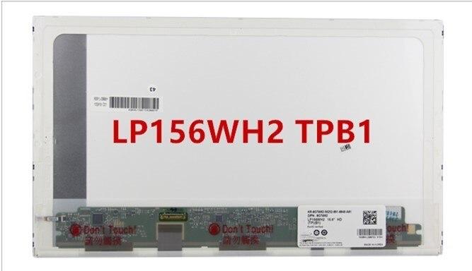 For Dell E6510 E5510 LCD LTN156AT08 LTN156KT01 LP156WH2 TPB1 LCD screen 1366 * 768 EDP ноутбук dell precision 5510 5510 9594 5510 9594