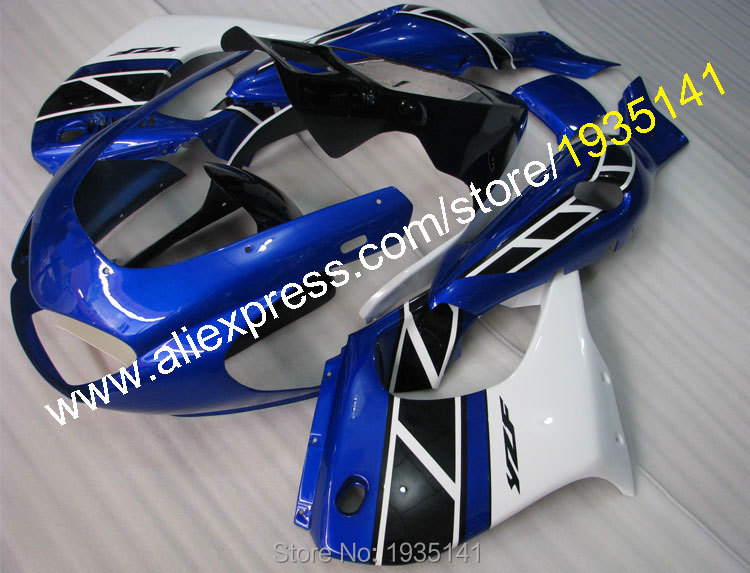 Hot Sales,Blue black white bodywork kit For Yamaha YZF1000R Thunderace YZF-1000R 1997~2007 YZF 1000 R 97~07 Motorbike Fairing