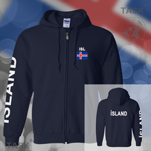 Iceland Icelander mens hoodies and sweatshirt casual polo sweat suit streetwear tracksuit nations fleece zipper ISL IS Island
