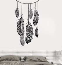 Art  Wall Sticker Vinyl Removeable Decorative Catcher Dream Decor Poster Fashion Style Mural Ethnic LY170