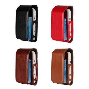 4 kolory przenośny Mini torba dla IQOS dla IQOS 2 4 Plus uniwersalny skrzynki pokrywa pokrowiec ochronny tanie i dobre opinie Protective Cover Pary Tool Kit Bag Skóra For IQOS For IQOS 2 4 Plus